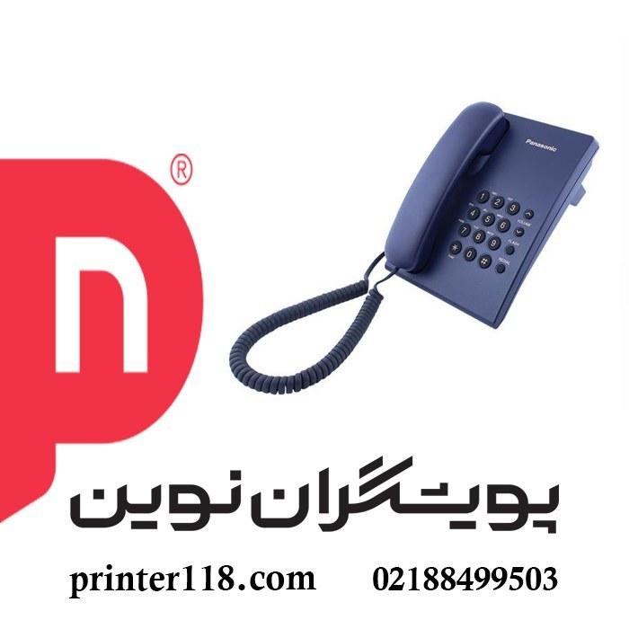 تصویر تلفن باسیم پاناسونیک KX-TS500MX|مشکی Panasonic KX-TS500MX