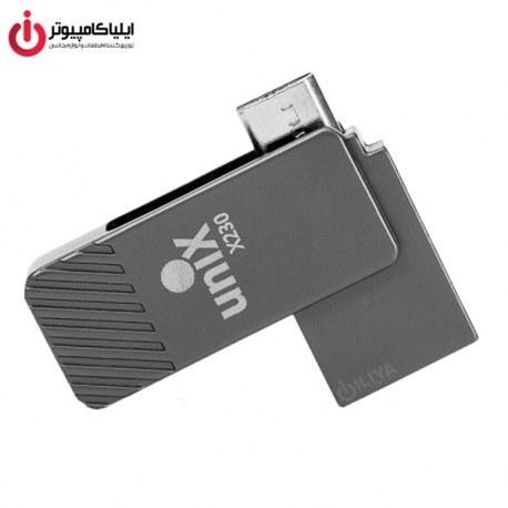 تصویر فلش مموری یونیکس X230 ظرفیت 32 گیگابایت Unix X230 OTG Flash Memory - 32GB