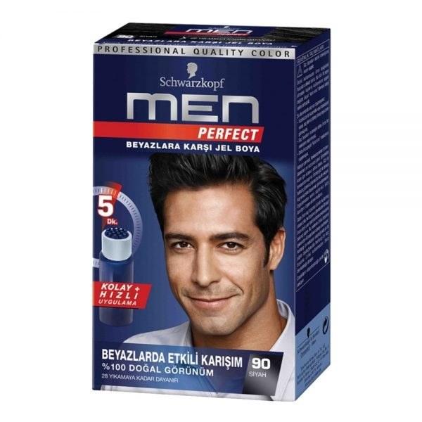 عکس کیت رنگ مو men مخصوص آقایان شماره 90  کیت-رنگ-مو-men-مخصوص-اقایان-شماره-90