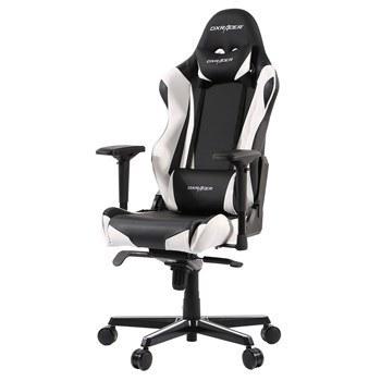 تصویر صندلی گیمینگ دی ایکس ریسر سری ریسینگ مدل OH/RV001/NW چرمی Dxracer Racing Series OH/RV001/NW Leather Gaming Chair