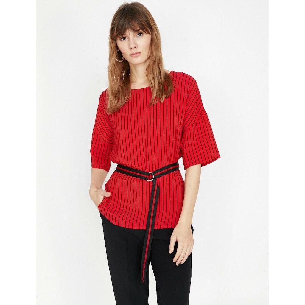 سفارش بلوز زنانه طرح دار برند کوتون Koton با قیمت مناسب وکد 6352418  