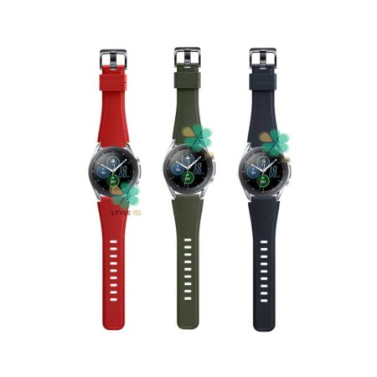 تصویر بند اورجینال ساعت سامسونگ Galaxy Watch 3 45mm مدل Active Silicone