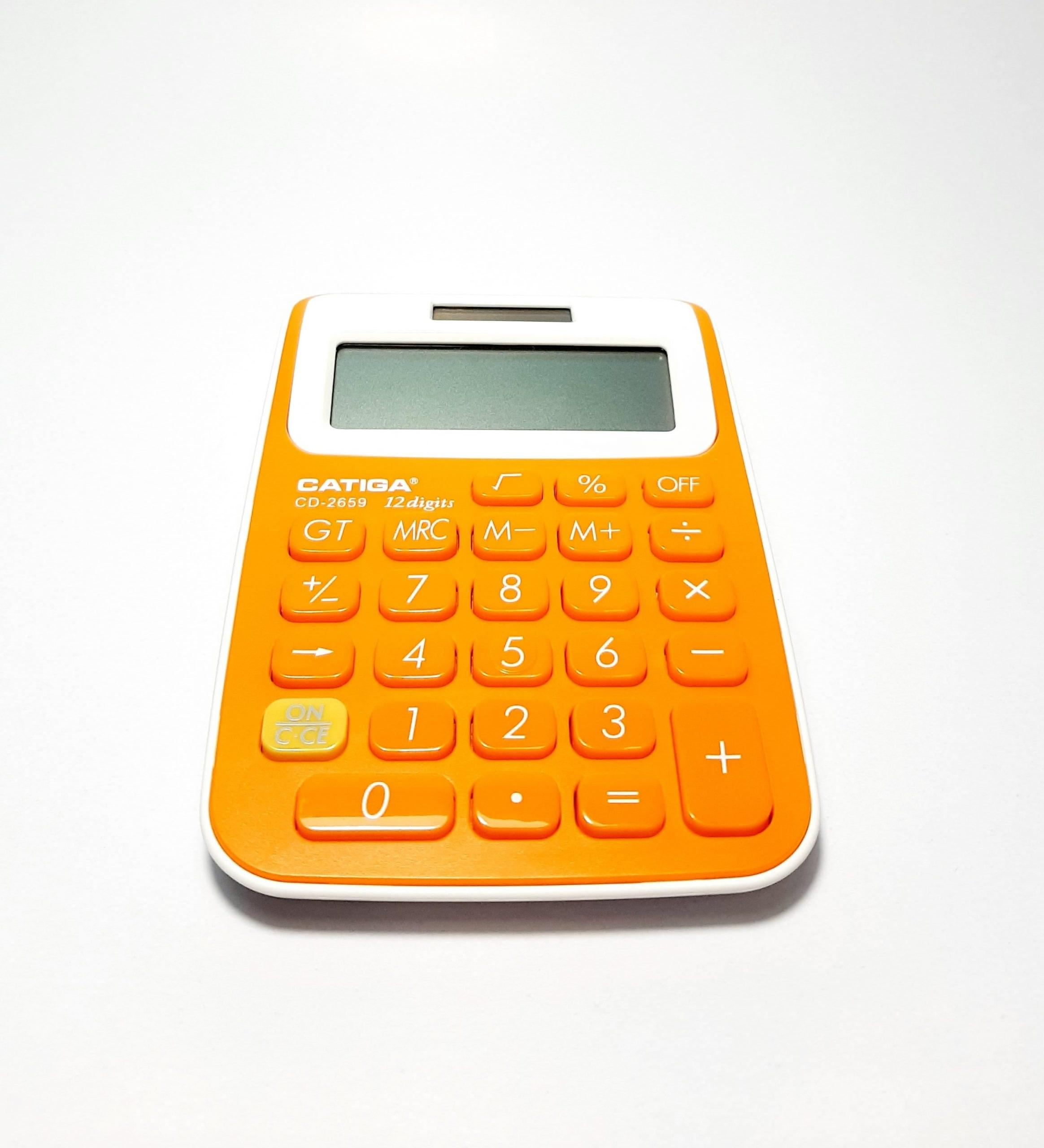 تصویر ماشین حساب کاتیگا مدل 2659