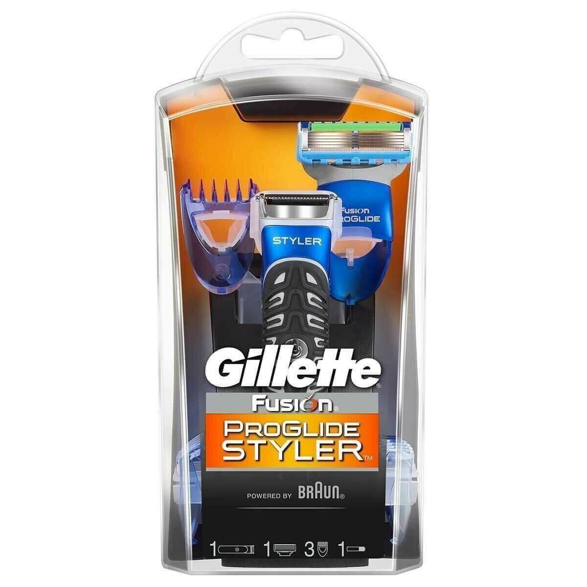 ریش تراش ژیلت سه کاره اورجینال GILLETTE Fusion Proglide Styler 3 in 1  