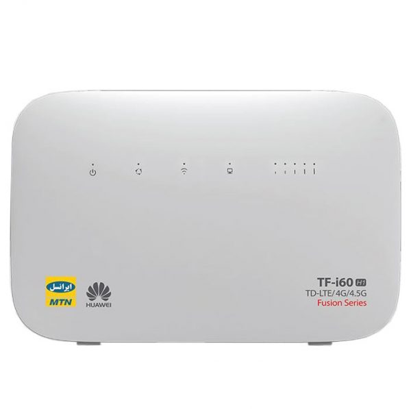 تصویر مودم 4G/TD-LTE ایرانسل مدل TF-i60 H1 (Irancell TF-i60 H1 4G/TD-LTE Modem)