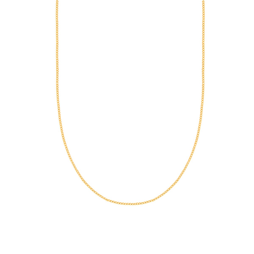 زنجیر گردنبند طلا کارتیه نازک
