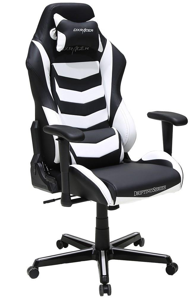 تصویر صندلی گیمینگ DXRACER سری دریفتینگ مدل OH/DM166/NW