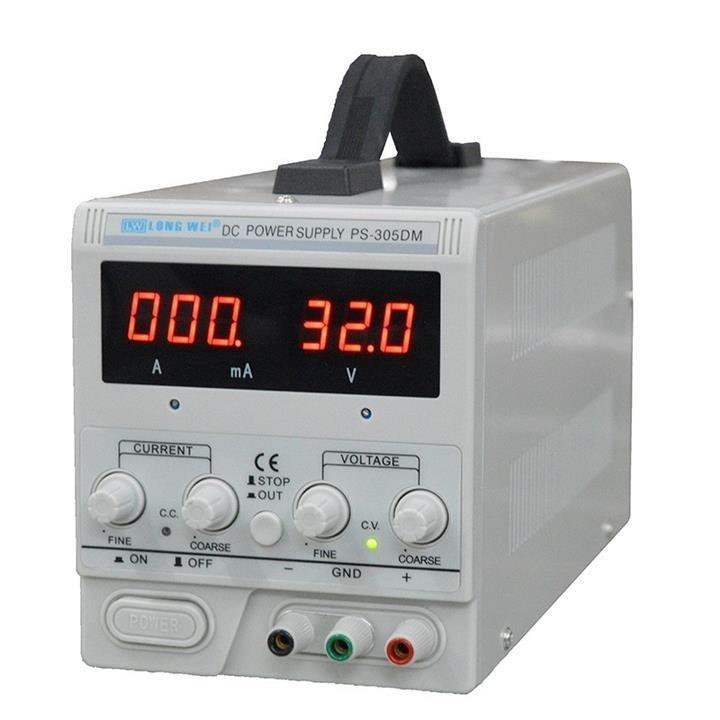 تصویر منبع تغذیه 30 ولت 5 آمپر لانگ وی مدل PS-305DM