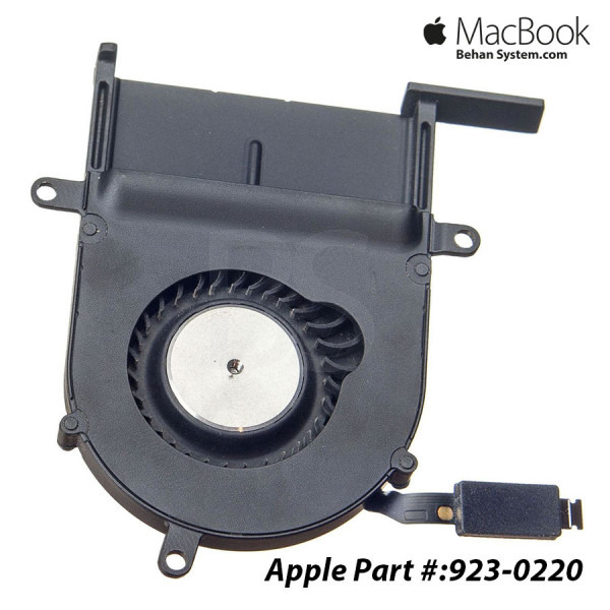 """تصویر فن راست پردازنده مک بوک پرو A1425 رتینا 13 اینچی سال 2012 و 2013 Right CPU FAN Apple MacBook Pro Retina 13"""" A1425"""