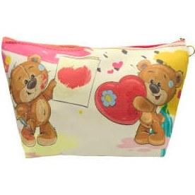 کیف لوازم آرایش طرح خرس کد 801.3  