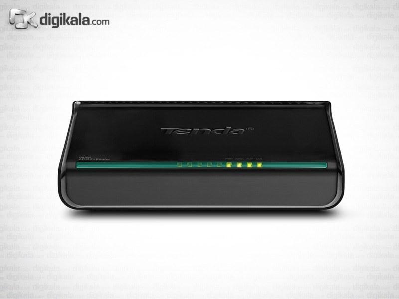 img مودم روتر تندا مدل دی ۸۱۰ آر Tenda D810R ADSL2+ Modem Router
