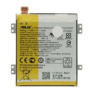 تصویر باتری اورجینال ایسوس C11P1507 ظرفیت 3000 میلی آمپر ساعت ا Asus C11P1507 3000mAh Original Battery Asus C11P1507 3000mAh Original Battery