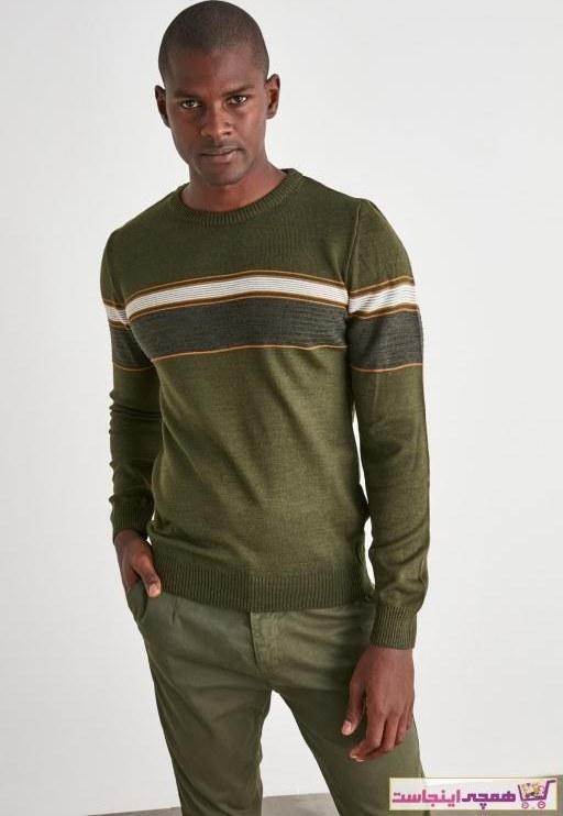 تصویر خرید اینترنتی پلیور خاص مارک ترندیول مرد رنگ خاکی کد ty52501887