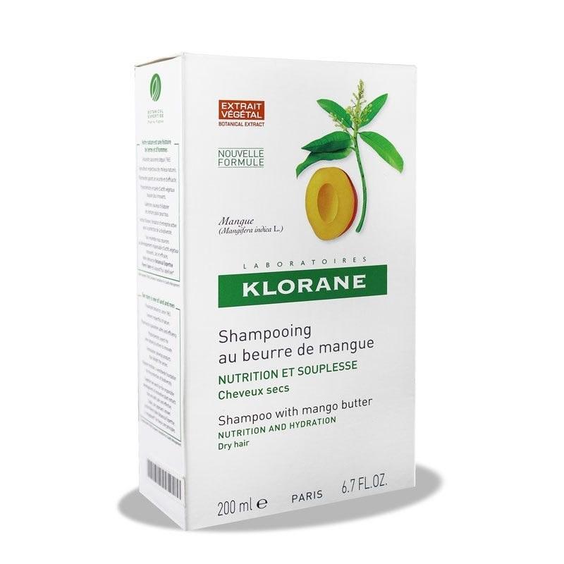 شامپو تغذیه کننده انبه کلوران Klorane Mangue Nutrition