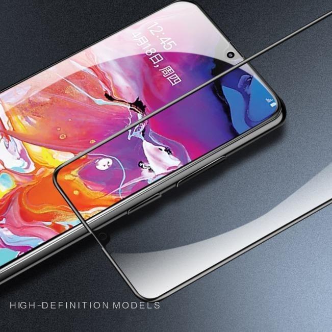 گلس سرامیکی براق سامسونگ Ceramic Full Glass Samsung Galaxy A70 | Ceramic Full Glass Samsung Galaxy A70