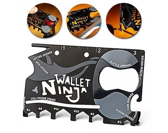 آچار و ابزار 18 کاره Ninja Wallet