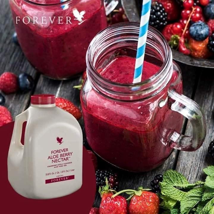 تصویر فوراور آلوئه بری نکتار 1 لیتری Forever Aloe Berry Nectar 1 liter