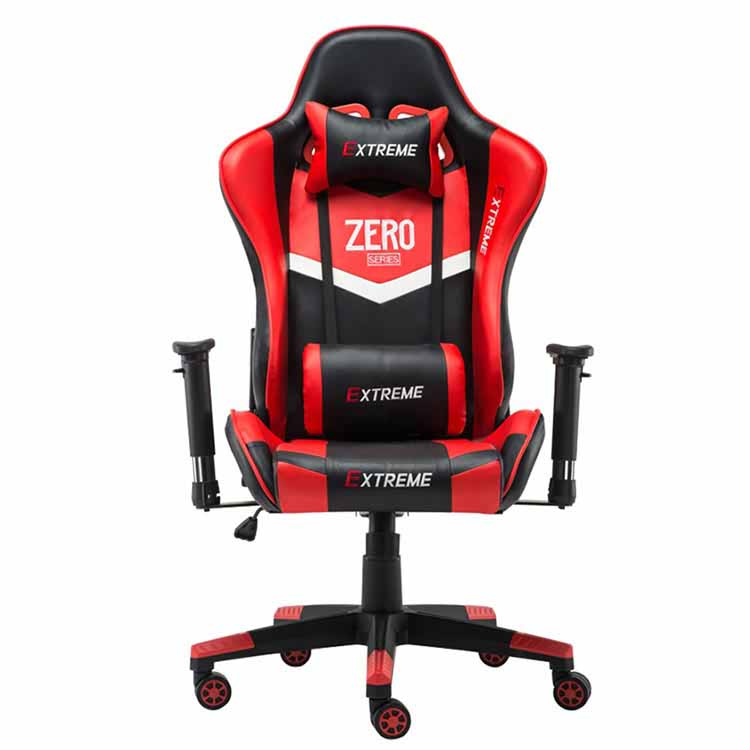 تصویر صندلی گیمینگ Extreme سری Zero – رنگ قرمز