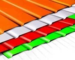 تصویر ورق رنگی نارنجی 0.5 عرض 1250 فولاد مبارکه اصفهان