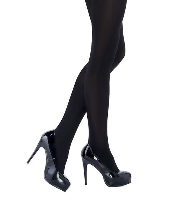 جوراب شلواری براق و ضخیم پنتی مدل Penti Wet Look ضخامت 120