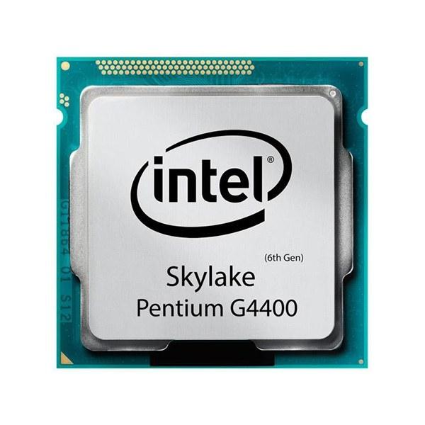 تصویر پردازنده اینتل سری Skylake مدل Intel Pentium G4400 بدون جعبه ا Intel Pentium G4400 Try Intel Pentium G4400 Try