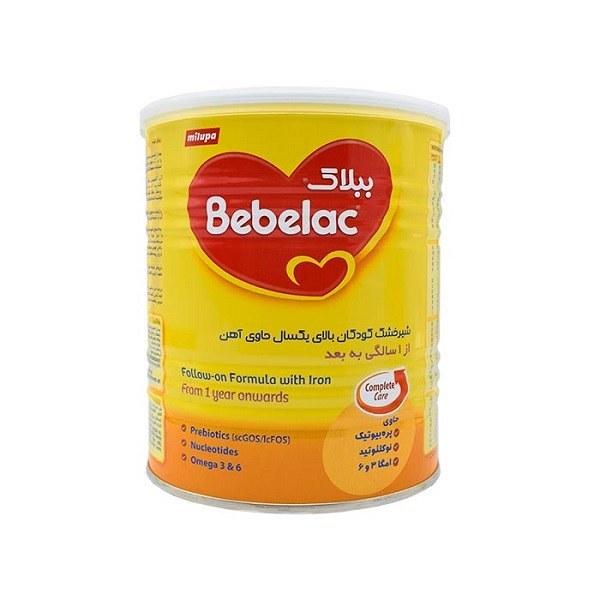 تصویر شیرخشک ببلاک کودکان بالای یکسال حاوی آهن ا Bebelac Follow on Formula With Iron Bebelac Follow on Formula With Iron