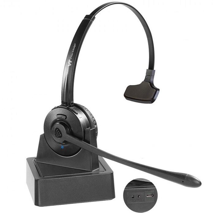 تصویر VT9702 Mono Bluetooth Headset وی تی قیمت   به شرط خرید تیمی