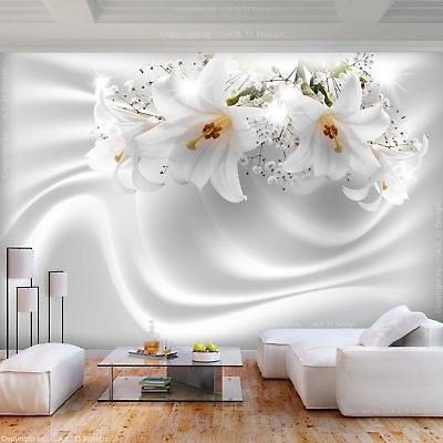 تصویر کاغذ دیواری سه بعدی گل نرگس کد 2217