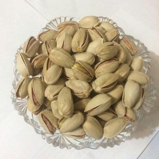 پسته خام اکبری دو کیلویی رفسنجان