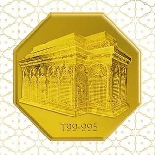 main images شمش طلا نقش برجسته حرم امام حسین (ع)