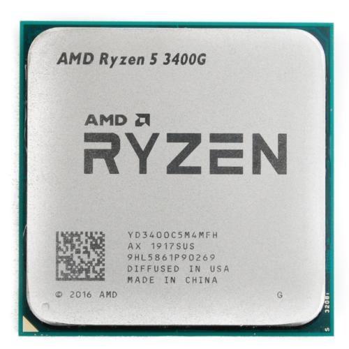 تصویر پردازنده مرکزی ای ام دی مدل Ryzen 5 3400G TRAY