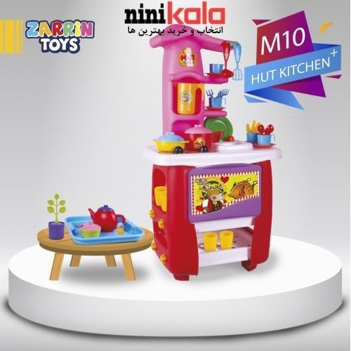 عکس ست آشپزخانه اسباب بازی زرین تویز 45 پارچه مدل Hut kitchen  ست-اشپزخانه-اسباب-بازی-زرین-تویز-45-پارچه-مدل-hut-kitchen