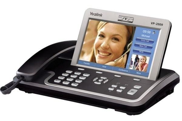 گوشی تلفن تصویری VoIP یالینک VP2009p Yealink