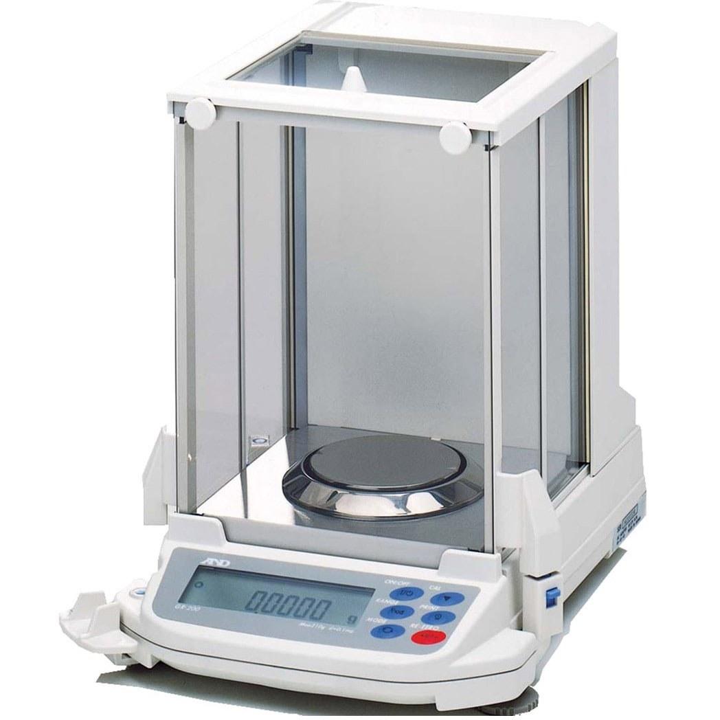 تصویر ترازو آزمایشگاهی | AND GR | قیمت ترازوی پنج صفر | ترازوی دیجیتال با دقت 0.0001 | پوز اسکیل