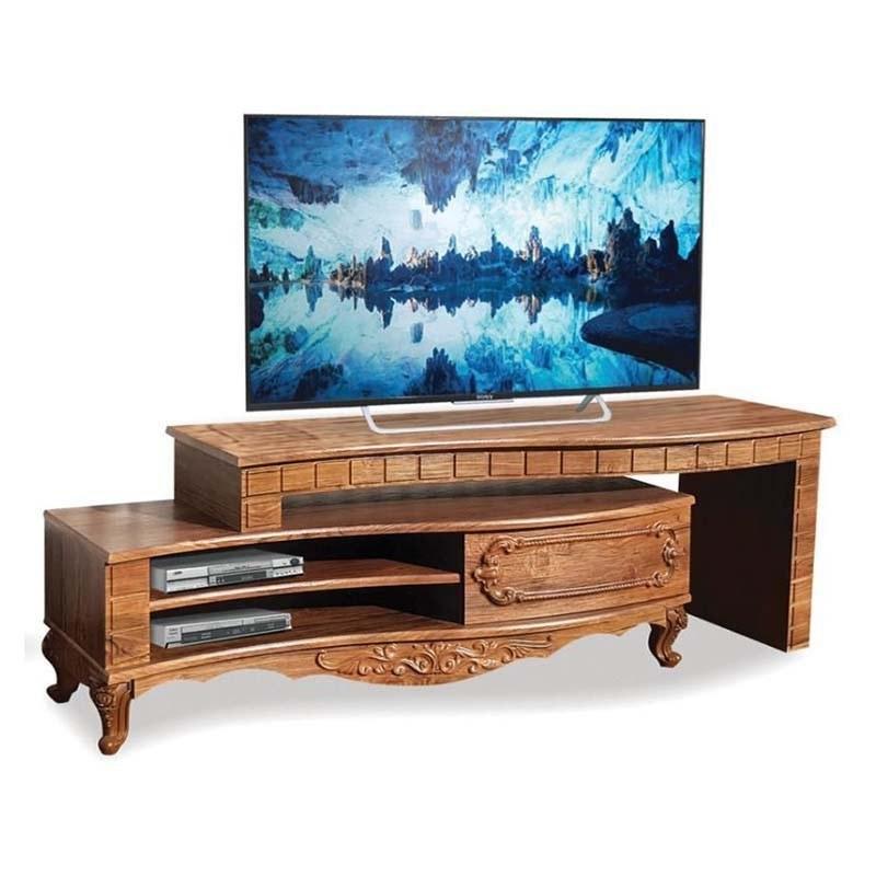 تصویر میز تلویزیون بهسازان چوب کد 135