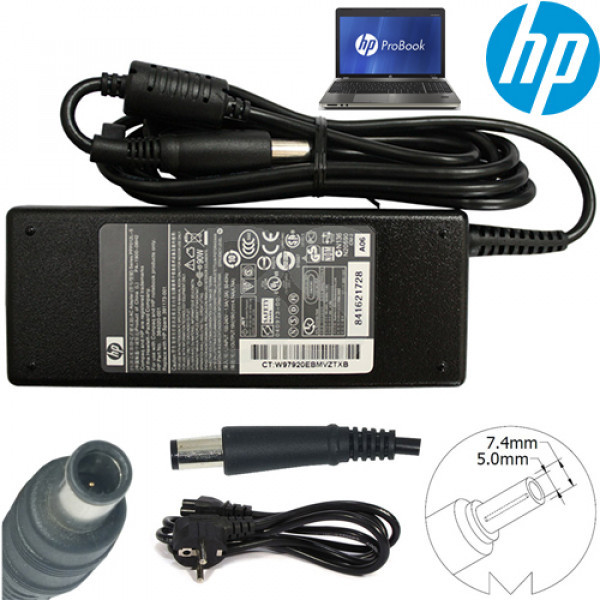 main images شارژر لپ تاپ HP مدل Pavilion DV6-6000 (گرید A دارای شش ماه گارانتی تعویض)