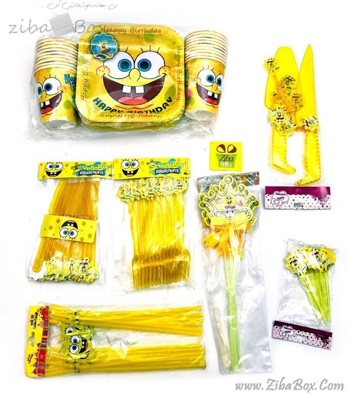 تصویر تم تولد باب اسفنجی SpongeBob