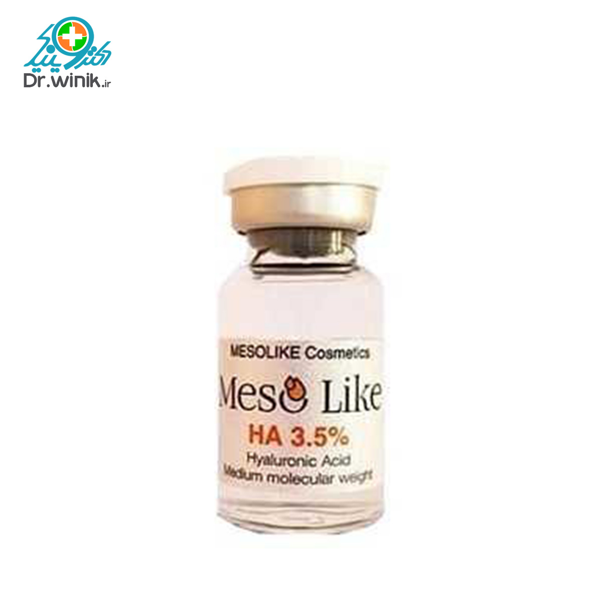 تصویر کوکتل مزولایک هیالورونیک اسید 3/5 درصد
