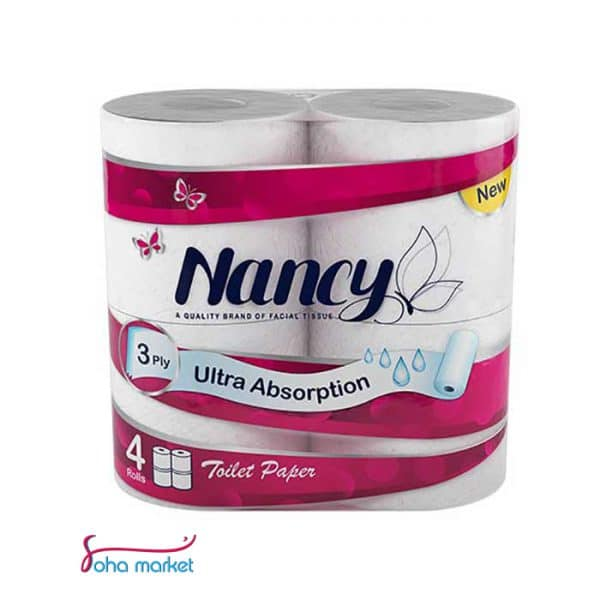 تصویر دستمال توالت ۴عددی Nancy
