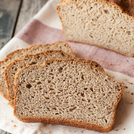 تصویر نان تست 150 گرمی رژیمی (کتوژنیک)