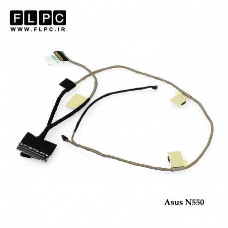 تصویر فلت تصویر لپ تاپ ایسوس Asus N550 Laptop Screen cable _Touch-1422-01SF0A
