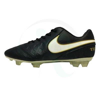 کفش فوتبال نایک تمپو مشکی Nike Tiemp