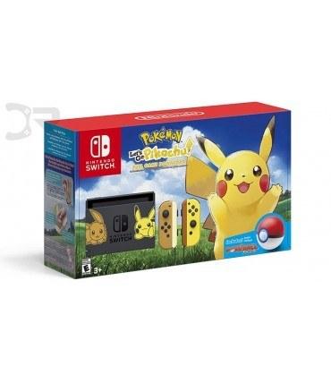 main images کنسول بازی نینتندو سوییچ باندل پوکمون - Nintendo Switch Bundle Pokemon