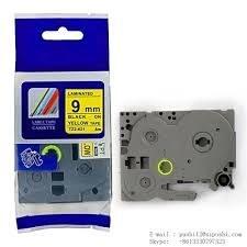 تصویر برچسب پرینتر لیبل زن TZe-621 برادر Brother TZe-621 Label Printer Label