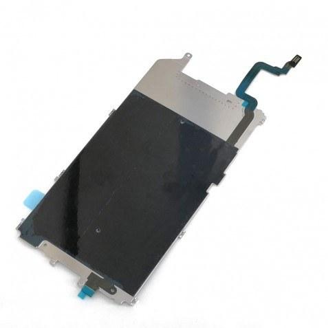 تصویر فلت دکمه هوم تاچ آیدی آیفون 6 پلاس اصلی   iPhone 6 Plus LCD Shield Plate with Home Button Cable