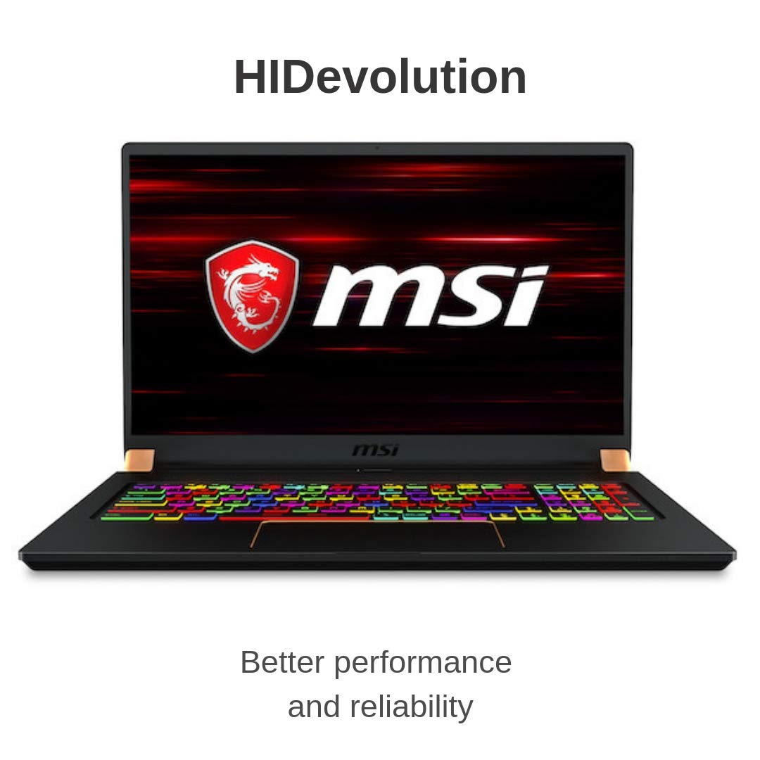 "HIDevolution MSI GS75 8SF Stealth 17.3"" FHD 144Hz Gaming Laptop 