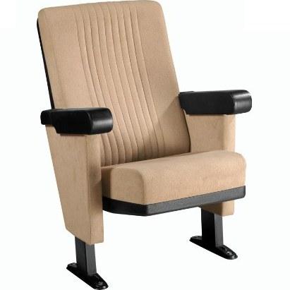 صندلی آمفی تئاتر رنگ کرم کد N940064 |