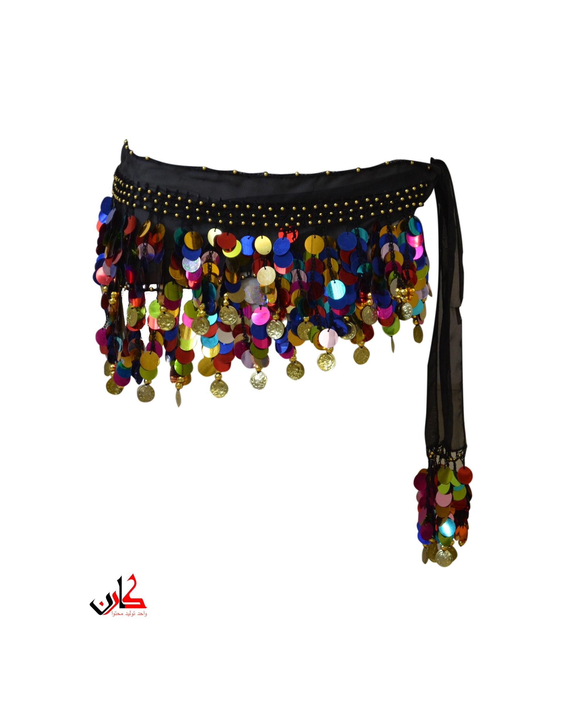 تصویر دامن رقص عربی سکه ای