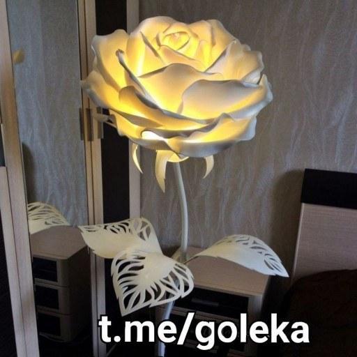 گل فومی غول پیکر چراغ دار |