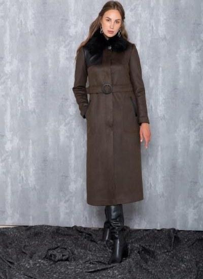 تصویر فروش مانتو زنانه حراجی برند Olcay رنگ خاکی کد ty68148124